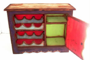 a small wine chest